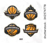 modern professional logo for... | Shutterstock .eps vector #342574778