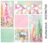 Pastel Colored Christmas...