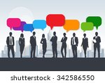 business people group... | Shutterstock .eps vector #342586550
