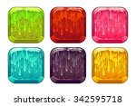 square colorful slime buttons...