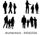 vector image of children and... | Shutterstock .eps vector #34262326
