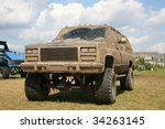 Small photo of Off-roading monster truck on show autoexotic