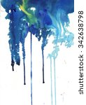 abstract watercolor background  | Shutterstock . vector #342638798