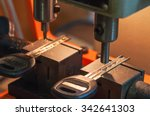 professional machine makes a... | Shutterstock . vector #342641303