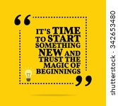 inspirational motivational... | Shutterstock .eps vector #342653480