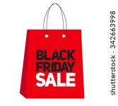 black friday sale label...   Shutterstock . vector #342663998