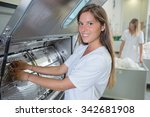 industrial washing machine | Shutterstock . vector #342681908