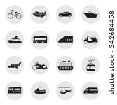 transportation and vehicles... | Shutterstock .eps vector #342684458