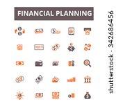 financial planning  finance ...   Shutterstock .eps vector #342686456