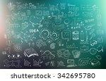 business development concept... | Shutterstock . vector #342695780