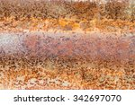 zinc rust backgrounds and... | Shutterstock . vector #342697070