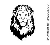 vector lion head | Shutterstock .eps vector #342708770