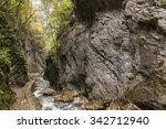river between rocks in the... | Shutterstock . vector #342712940