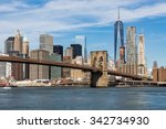 new york   august 22  views of... | Shutterstock . vector #342734930