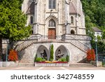 cathedral of st. florin in... | Shutterstock . vector #342748559
