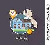 vector illustration of real... | Shutterstock .eps vector #342758030