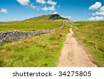 Foot Path To Pen Y Ghent With...