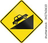 New Zealand Road Sign Pw 27.1 ...