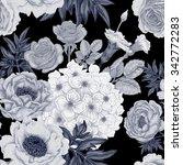 seamless pattern. illustration... | Shutterstock .eps vector #342772283
