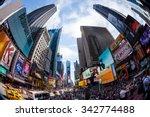 new york   august 22  views of... | Shutterstock . vector #342774488