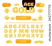 juicy colorful typographic...