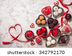 gourmet chocolates for... | Shutterstock . vector #342792170