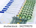 euro money background | Shutterstock . vector #342799070