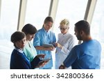 group of medical staff at... | Shutterstock . vector #342800366