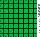 green knitted geometry... | Shutterstock . vector #342808259