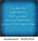 quotes about education  on the... | Shutterstock . vector #342815924