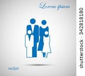 family graphic design   vector...   Shutterstock .eps vector #342818180