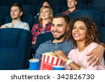 date night at the movies  young ... | Shutterstock . vector #342826730