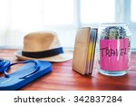 objects for travel isolated on...