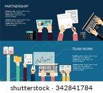 flat design illustration... | Shutterstock .eps vector #342841784