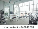 Modern Luxury Fitness Center...
