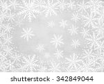 christmas background with... | Shutterstock . vector #342849044