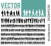 vector business people... | Shutterstock .eps vector #342849230