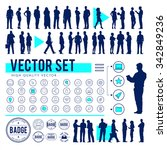 vector business people... | Shutterstock .eps vector #342849236