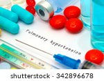 pulmonary hypertension  ... | Shutterstock . vector #342896678