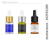 dropper bottle isolated on... | Shutterstock .eps vector #342931280