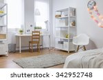 image of spacious new design... | Shutterstock . vector #342952748