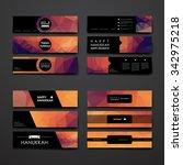 set of modern design banner... | Shutterstock .eps vector #342975218