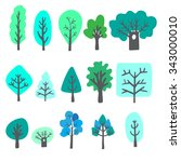 biggest collection of vector... | Shutterstock .eps vector #343000010