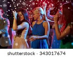 new year party  holidays ... | Shutterstock . vector #343017674