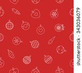 vector illustration christmas... | Shutterstock .eps vector #343036079