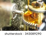 metalworking industry. tooth... | Shutterstock . vector #343089290
