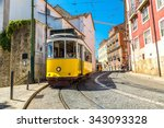 Vintage Tram In The City Cente...