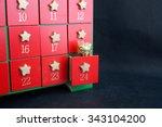 advent calendar | Shutterstock . vector #343104200