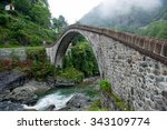 Old Historical Stone Bridge On...