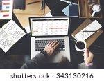 calender planner organization... | Shutterstock . vector #343130216